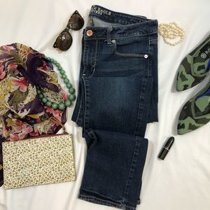 American Eagle Skinny Jeans 12 Short A2
